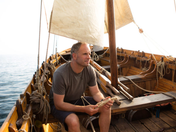 Conrad Humphreys onboard Bounty's End