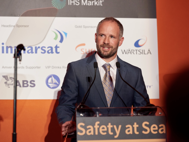 Hosting the 2018 Safety at Sea Awards